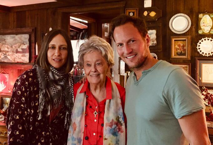 Vera Farmiga y Patrick Wilson recordaron a Lorraine a través de mensajes en redes sociales.
