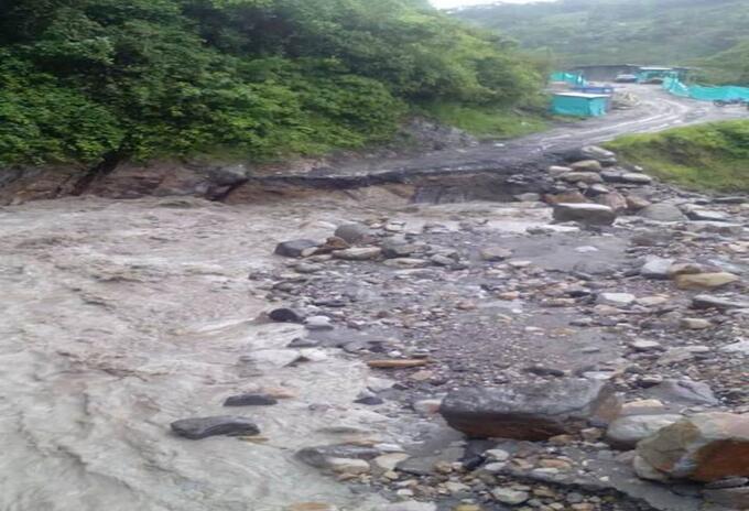 Vía La Soberanía entre Norte de Santander y Arauca