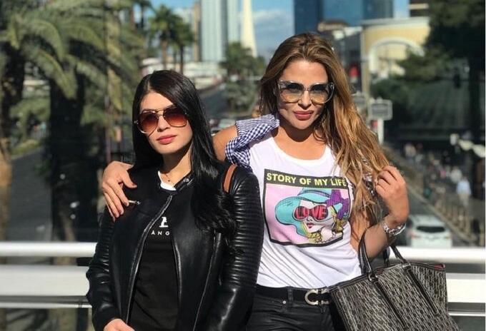 Gina Montoya y Estefanía Gómez