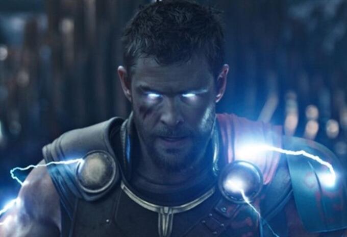 Chris Hemsworth como Thor en Ragnarok