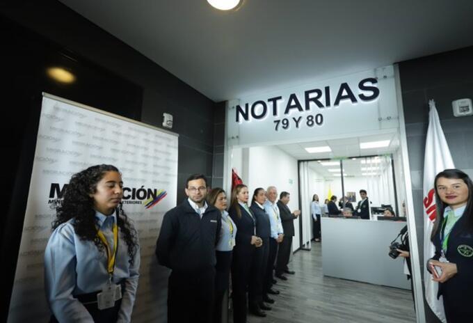 Notaria Aeropuerto El Dorado