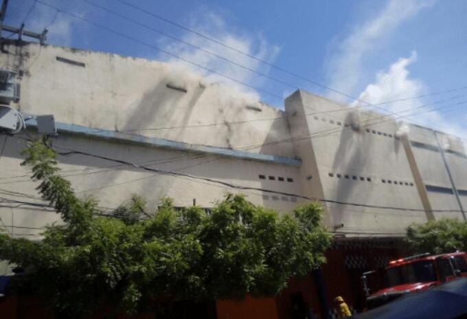 Incendio en centro de Barranquilla.