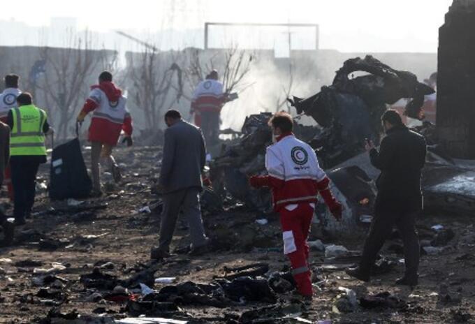 accidente avion ucraniano