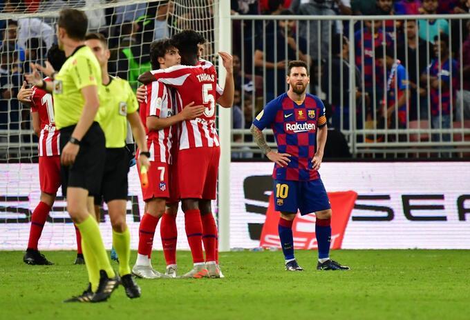 Atlético de Madrid vs Barcelona - Supercopa 2020