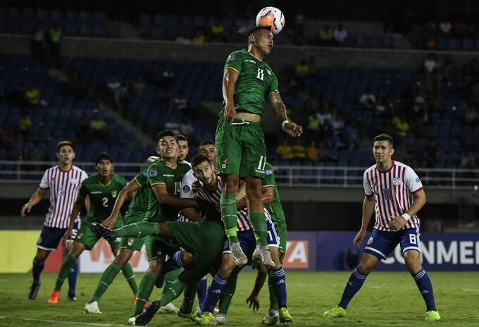 Paraguay vs Bolivia - Preolímpico