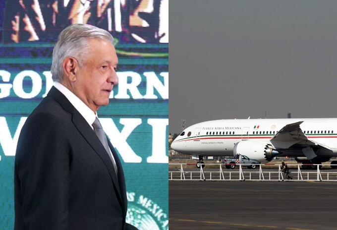 El avión presidencial y Andrés Manuel López Obrador