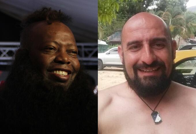 Faustino Asprilla y Freddy Contreras