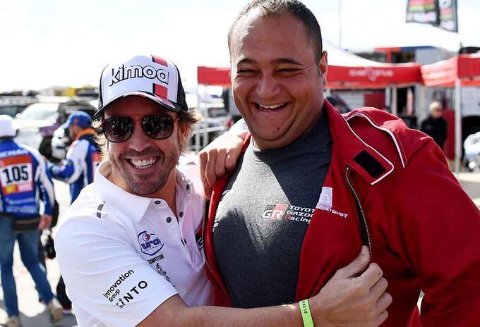 Fernando Alonso, piloto del Dakar