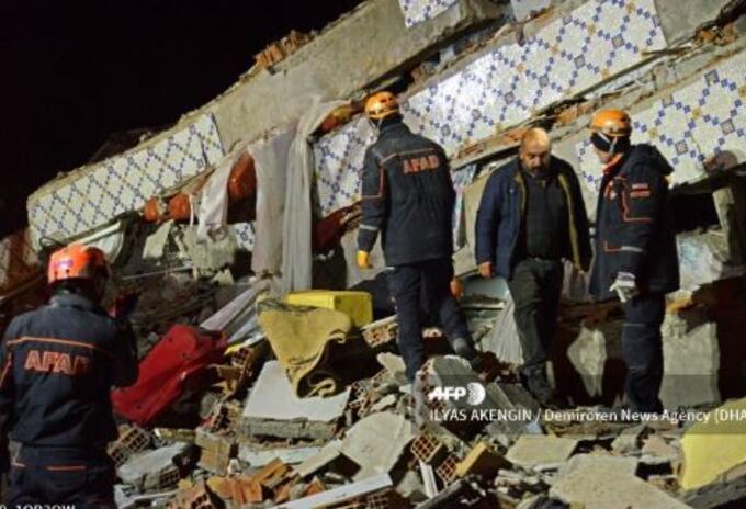 Temblor en Turquia