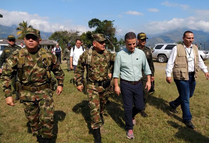 Consejo de seguridad extraordinario en Ituango, Antioquia