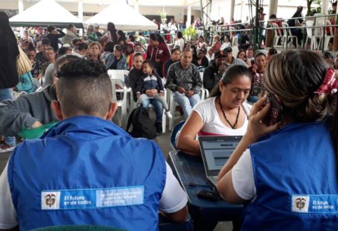 Desplazados en Tarazá, Antioquia