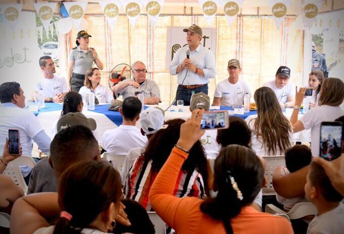 Visita presidencial a la zona del Catatumbo