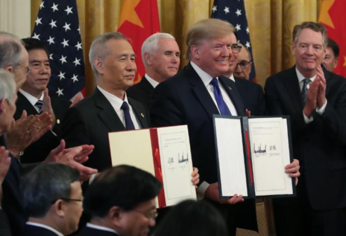 Estados Unidos- China