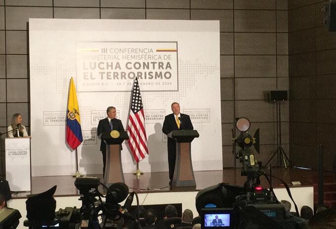 Cumbre contra el terrorismo en Bogotá