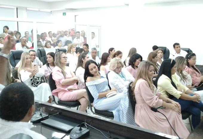 En Montería asumieron 19 concejales.