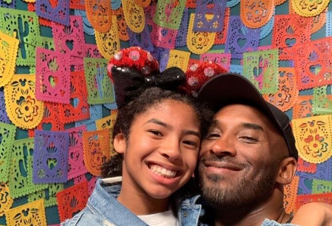 Kobe Bryant y su hija Gigi