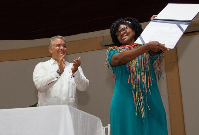 Mabel Torres - Ministra de Ciencia, tecnología e Innovación