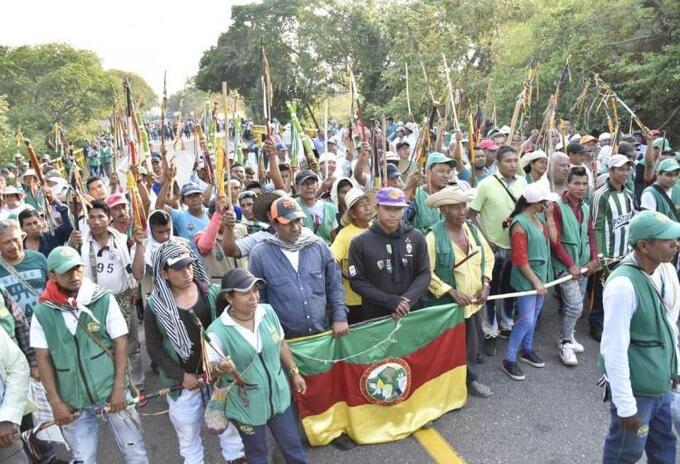 Indígenas del Tolima. Imagen de ilustración.
