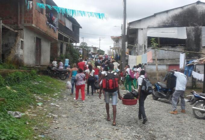 Referencia Nuquí, Chocó.