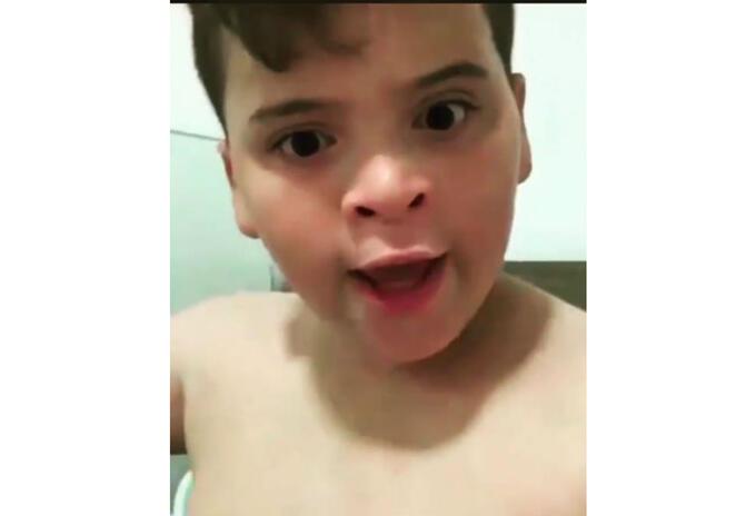 John Parada, niño de nunca fit siempre fat