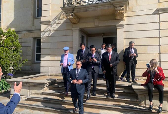 Cambio Radical después de la reunión con el presidente Iván Duque