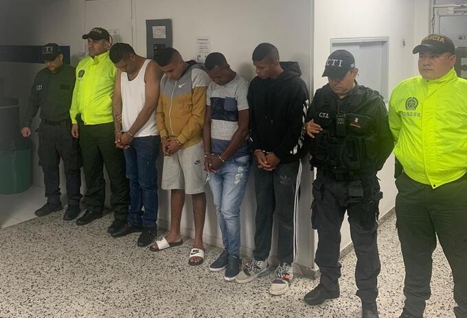 Los capturados fueron enviados a la cárcel