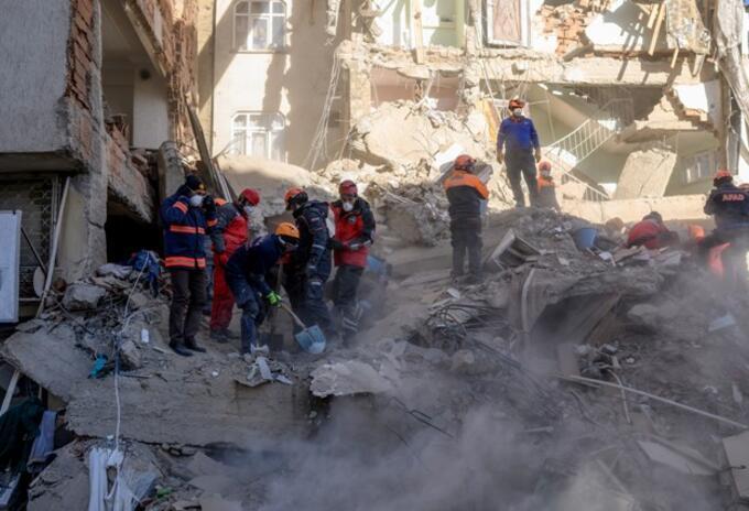 Terremoto en Turquía.