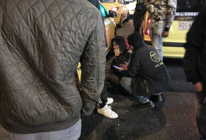 Pasajera denuncia agresión por parte de una taxista en el norte de Bogotá.