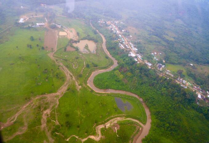 Estado de las vías Terciarias en el Catatumbo
