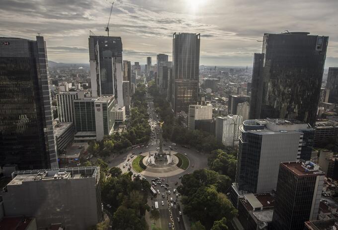Panorámica de México