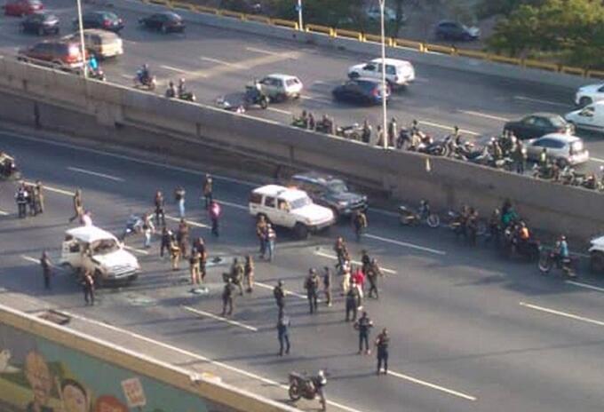 Tiroteo en Caracas