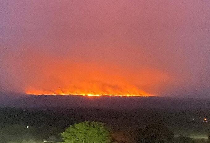 Incendios en La MacaneraIncendios en La Macanera