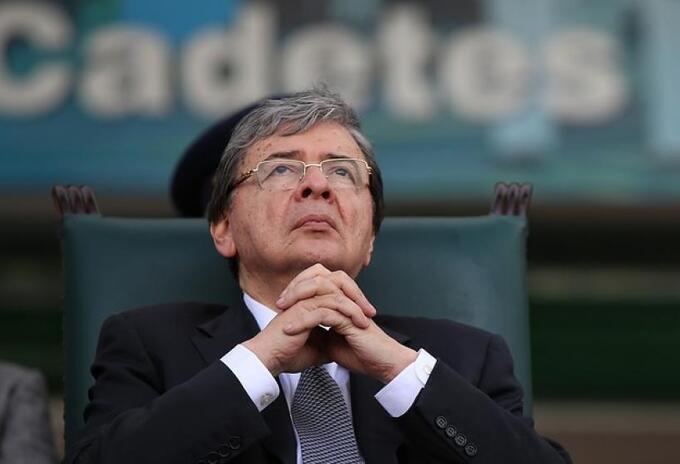 Ministro de Defensa, Carlos Holmes Trujillo.