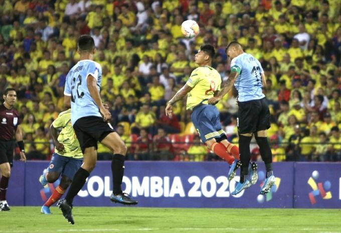 Colombia vs Uruguay Sub 23