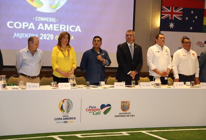 comité organizador Copa América