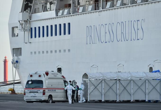 Crucero en cuarentena por coronavirus