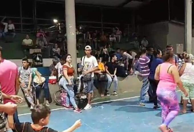 Familias venezolanas en Puerto Santander