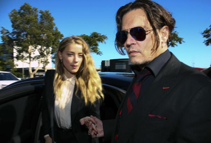 Johnny Depp y Amber Heard se casaron en 2015
