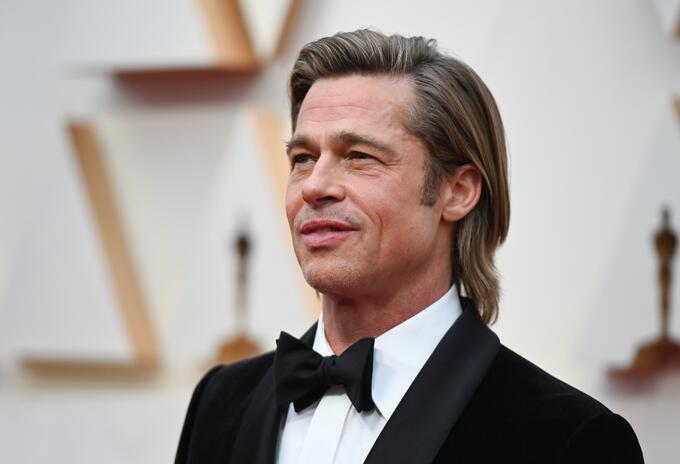 Brad Pitt en los Oscar 2020