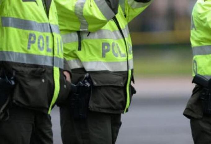 Imagen referencial de policías