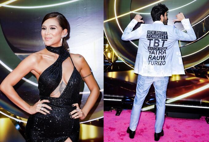 Greeicy y Yatra en los Premios Lo Nuestro