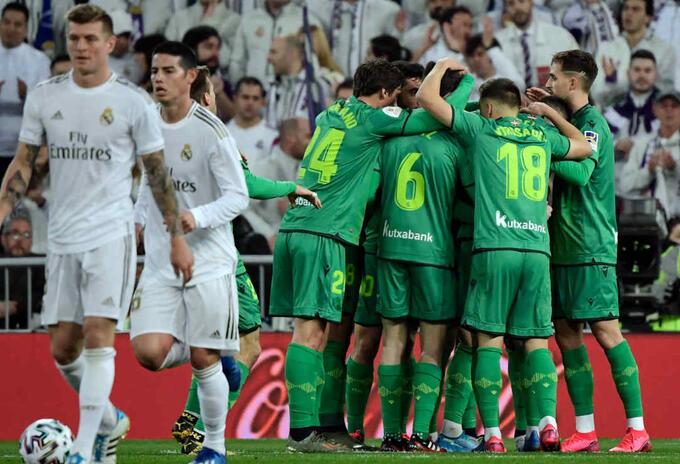 Real Madrid Vs Real Sociedad - Copa del Rey