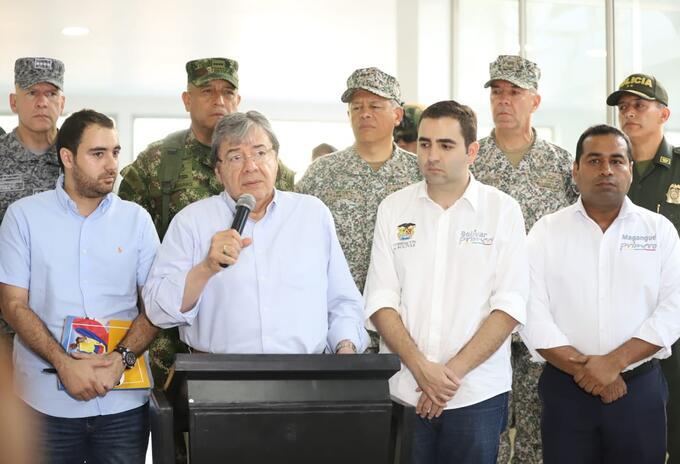 En el encuentro se trazaron compromisos para combatir la criminalidad, y fortalecer la institucionalidad en Bolívar.