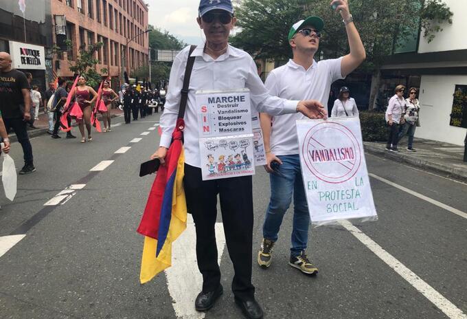 Movilización No violencia