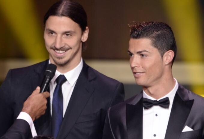 Zlatan y Cristiano Ronaldo