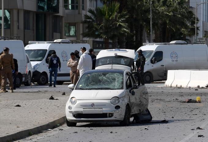Explosión en Túnez