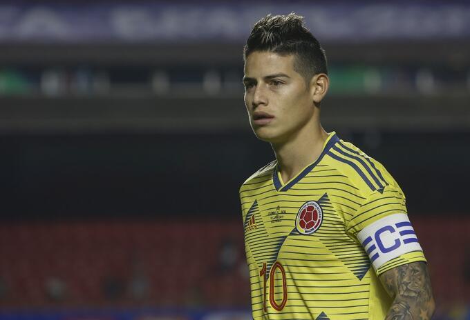 James Rodríguez, Selección Colombia