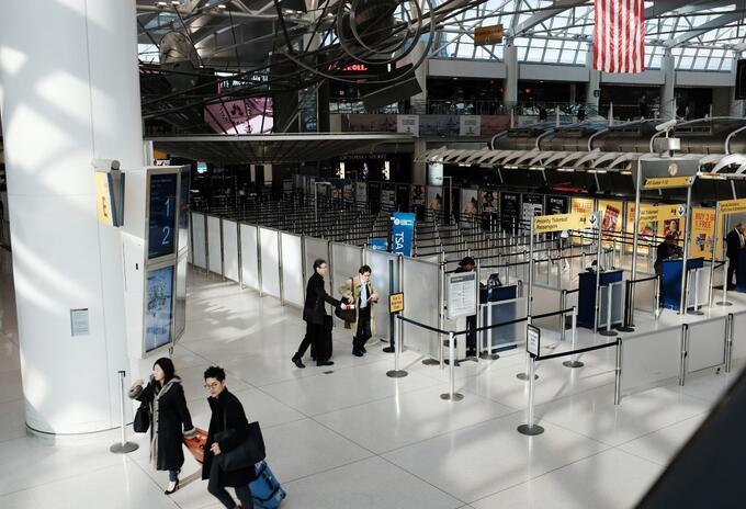 Aeropuerto John F Kennedy de Nueva York