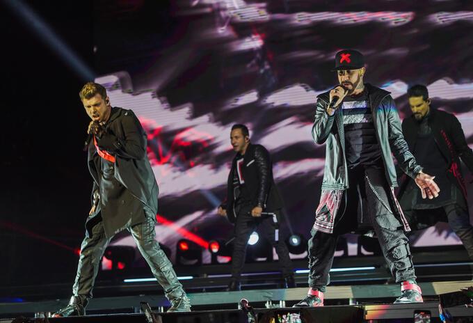Backstreet boys en Bogotá