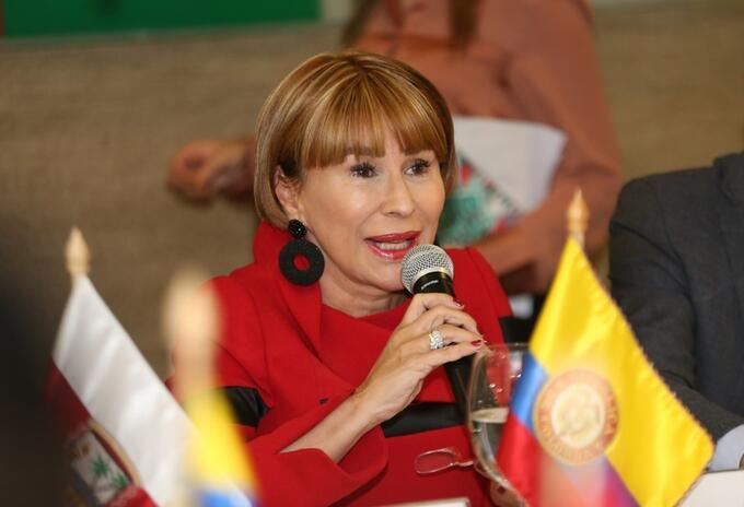 Ministra del Interior, Alicia Arango